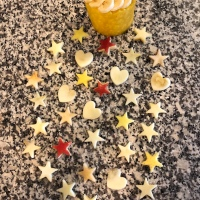 Pineapple Tower, Apple Stars, and Hearts