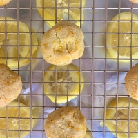 Lemon Zest Cookies 🍋