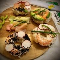 Trendy Sushi Bagels